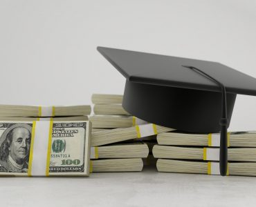 money with graduation cap